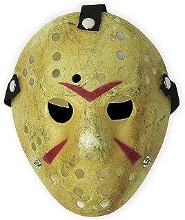 CASA CLAUSI Jason Mask Halloween Cosplay Costume Yellow