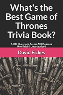 Best game of throne trivia Reviews