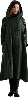 linen hooded cloak