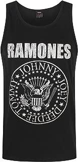 Vanilla Underground Ramones Seal Logo Men's Tank Top