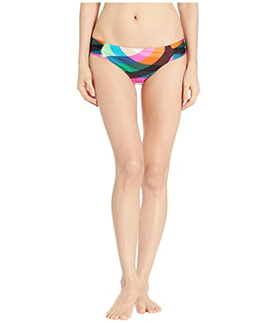 Trina Turk Kaleidoscope Shirred Side Hipster Bottoms (Multi) Women
