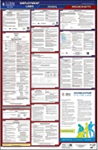 2019 Massachusetts Labor Law Poster, All-in-One OSHA Compliant MA State & Federal Laminated Poster (26