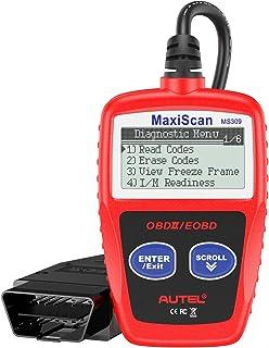 خواننده خطای موتور اسکنر Autel MS309 Universal OBD2 ، خواندن کدهای پاک ، مشاهده داده های مربوط به یخبندان ، آمادگی I / M