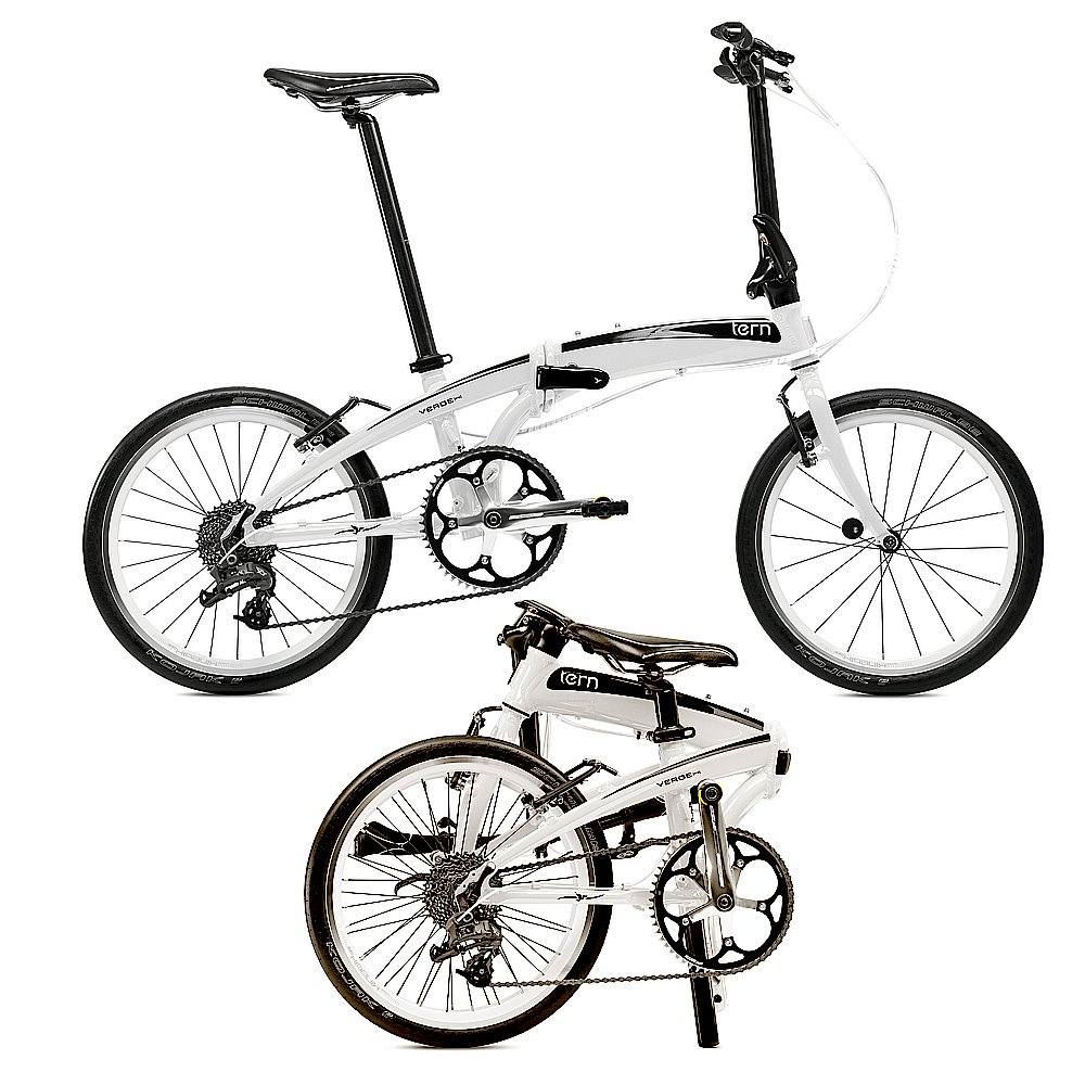 tern Verge P9 - Bicicletas plegables - blanco 2016: Amazon.es ...