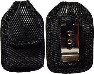 Premium Classic Style Pouch case with Belt Clip for Tandem Diabetes Care Insulin Pump (T:Flex Pump/T:Slim G4 Pump/T:Slim X...