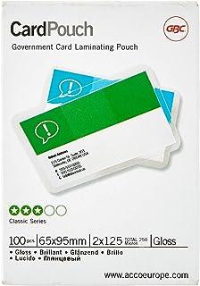 Carteras plastificación GBC tarjeta