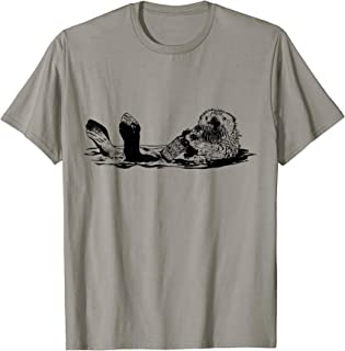 The Original Beer Drinking Otter - Funny Beer T-Shirt T-Shirt