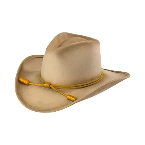 RESISTOL Men s John Wayne Hondo Cavalry Hat Silverbelly Medium 103d25865fb6