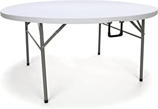 3 foot round folding table