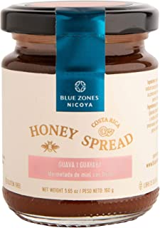 Blue Zones Nicoya Honey Spread, Costa Rican Wild Bee Honey with Tropical Fruits, All Natural, Gluten Free (...