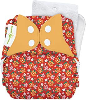 bumGenius Original One-Size Pocket-Style Cloth Diaper 5.0 - Little House in The Big Woods Collection (Prairie Flowers)