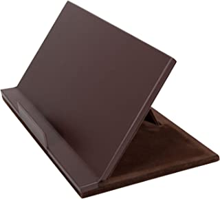 Dacasso Classic Leather Tablet Stand - Chocolate Brown