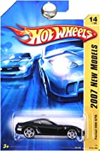 Hot Wheels 2007 New Models -#14 Ferrari 599 GTB Black #2007-14 Collectible Collector Car Mattel 1:64 Scale