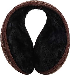 Men Women Earmuffs Foldable Ear Warmers Fleece Winter Earmuffs Windproof