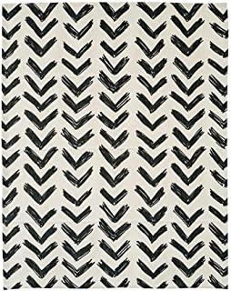 KARUILU home Quick Fix Washable Roman Window Shades Flat Fold, Geometric Color Pattern (Custom, Inkflow)