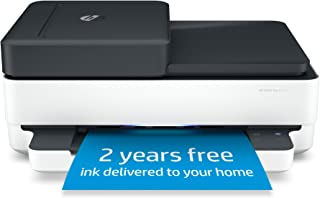 HP Envy Pro 6475 Wireless All-in-One Printer, Includes 2 Years of Ink Delivered, Mobile Print, Scan & Copy, Compatible wit...