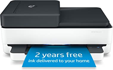 HP Envy Pro 6475 Wireless All-in-One Printer, Includes 2 Years of Ink Delivered, Mobile Print, Scan & Copy, Compatible with A