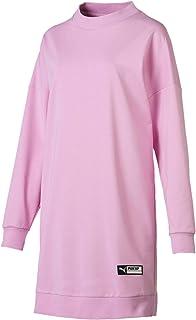 Puma TZ Long Crew Pink Shirt For Women, Size