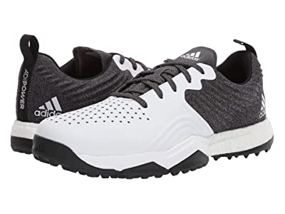 adidas Golf adiPower 4orged S (Black/White/Silver Metallic) Men