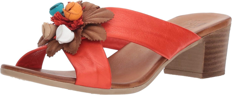 Spring Step Womens Bouquet Heeled Sandal