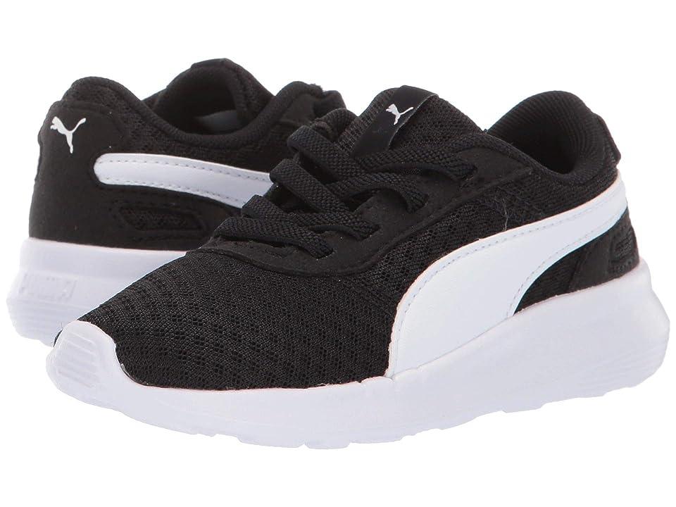 Puma Kids ST Activate AC (Toddler) (Puma Black/Puma White) Kids Shoes