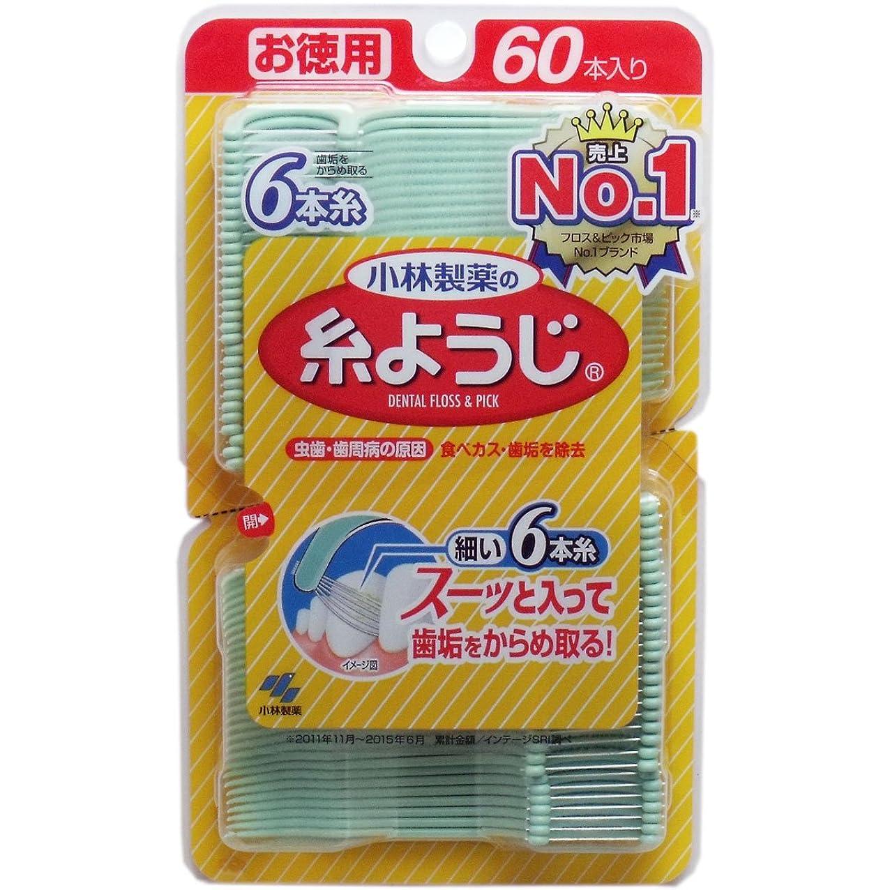 悔い改め感じ排泄する糸ようじ 60本 ×2セット