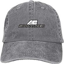 ZaHome Unisex AC Schnitzer 100% Cotton Workout Caps Adjustable Unstructured Hats