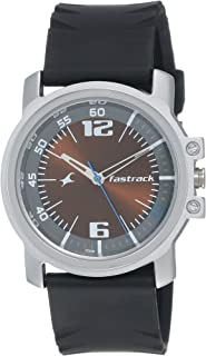 Fastrack Economy Analog Brown Dial Men's Watch -NK3039SP02