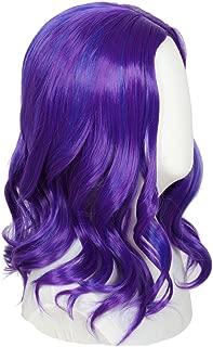 Codeven Kid Child Purple Wig Halloween Costume Cosplay Party Wigs
