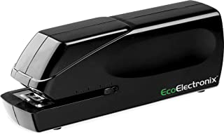 EX-25 Automatic Heavy Duty Electric Stapler - Includes Staples, Power Cable and Extended Warranty by EcoElectronix - Jam-Free 25 Sheet Full-Strip Staple Capacity, for Professional and Home Office Use