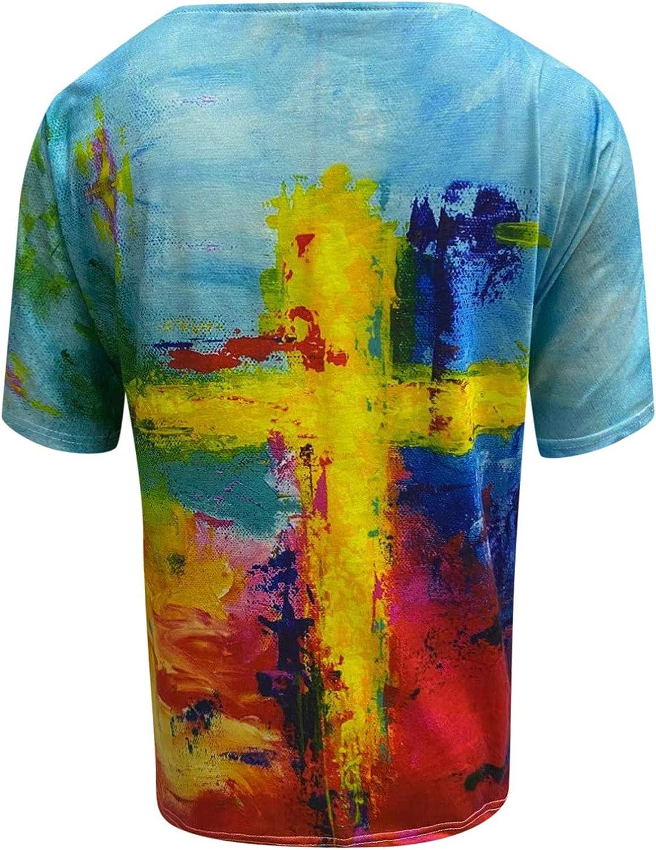 Womens Tops 3/4 Sleeve T Shirts Women Cute Graphic Blessed Shirt Funny Inspirational Teacher Fall Tees Tops Light Blue