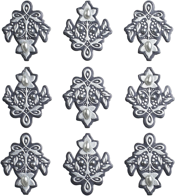 Jolee 's Boutique dreidimensionale dreidimensionale dreidimensionale Aufkleber, Hochzeit Ornaments wiederholt B00HSH4TB4 | Ausgezeichnet  fa38d4