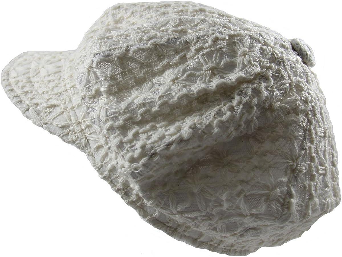 RW Arlington Mall outlet Ladies Crochet Newsboy Hats