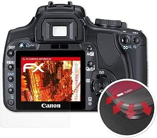 2x Canon EOS 250d láminas protectoras de pantalla mate antirreflejos