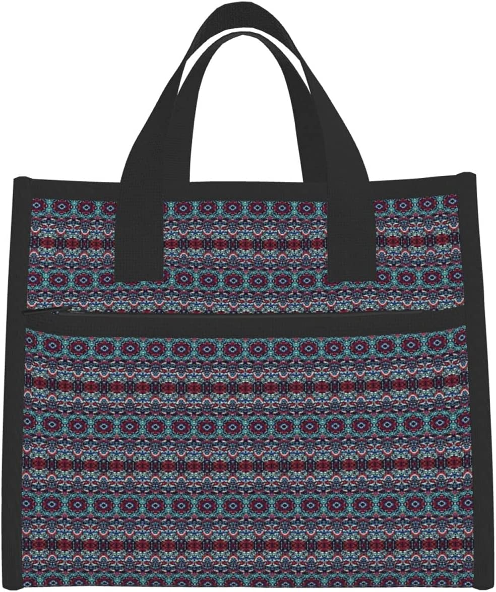 Insulated Lunch Bag,Abstract Raster Dynamic P Surface Discount is Max 40% OFF also underway Rippled