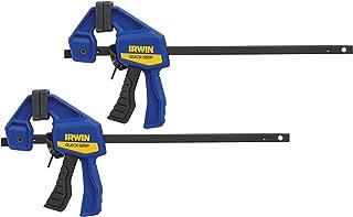 IRWINQUICK-GRIPOne-Handed Micro Bar Clamp 2 Pack, 4-1/4