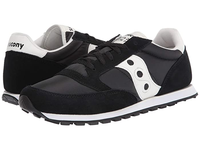 Saucony Originals  Jazz Low Pro (Black/Cream) Mens Classic Shoes