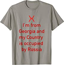 Georgia Protest to Russia Occupation Tshirt