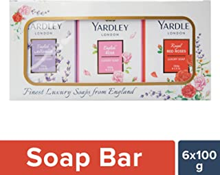 Yardley London Luxury Soap, 100g (Pack of 6)
