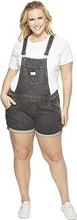 Levi's Women's Plus Size Shortalls