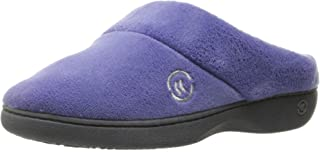 حذاء ISOTONER نسائي من قماش التيري سهل الارتداء ومصنوع من إسفنج قادر على الاحتفاظ بالشكل ودعم قوس القدم، مناسب للاستخدام ا...