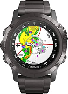 Smartwatch Garmin D2 Delta PX DLC Sapphire Titanium 010-01989-31