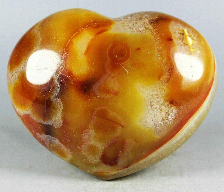 Beads 258g Colorful Red Orange White Las Vegas Mall Crystal 5 popular Hea Agate Carnelian