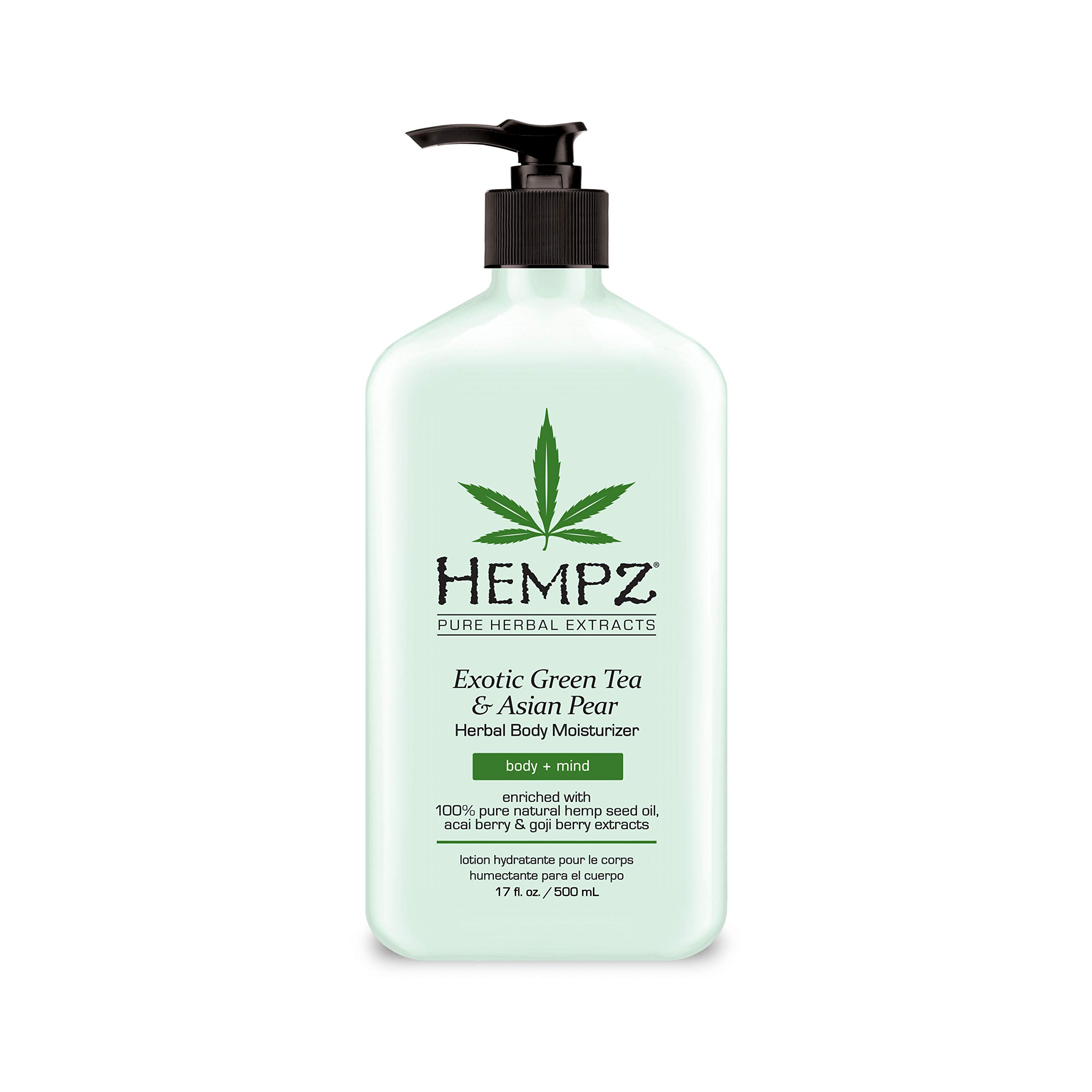 Hempz Exotic Herbal Moisturizer Green