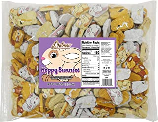 R.M. Palmer Chocolaty Easter Bunnies | Chocolaty | Smooth & Creamy Center | Individually Wrapped | Perfect For Gift Basket...