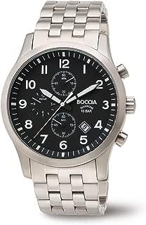 3755-02 Boccia Titanium Mens Chronograph Watch