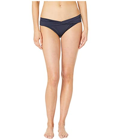 MICHAEL Michael Kors Twist Bikini Bottoms (New Navy) Women