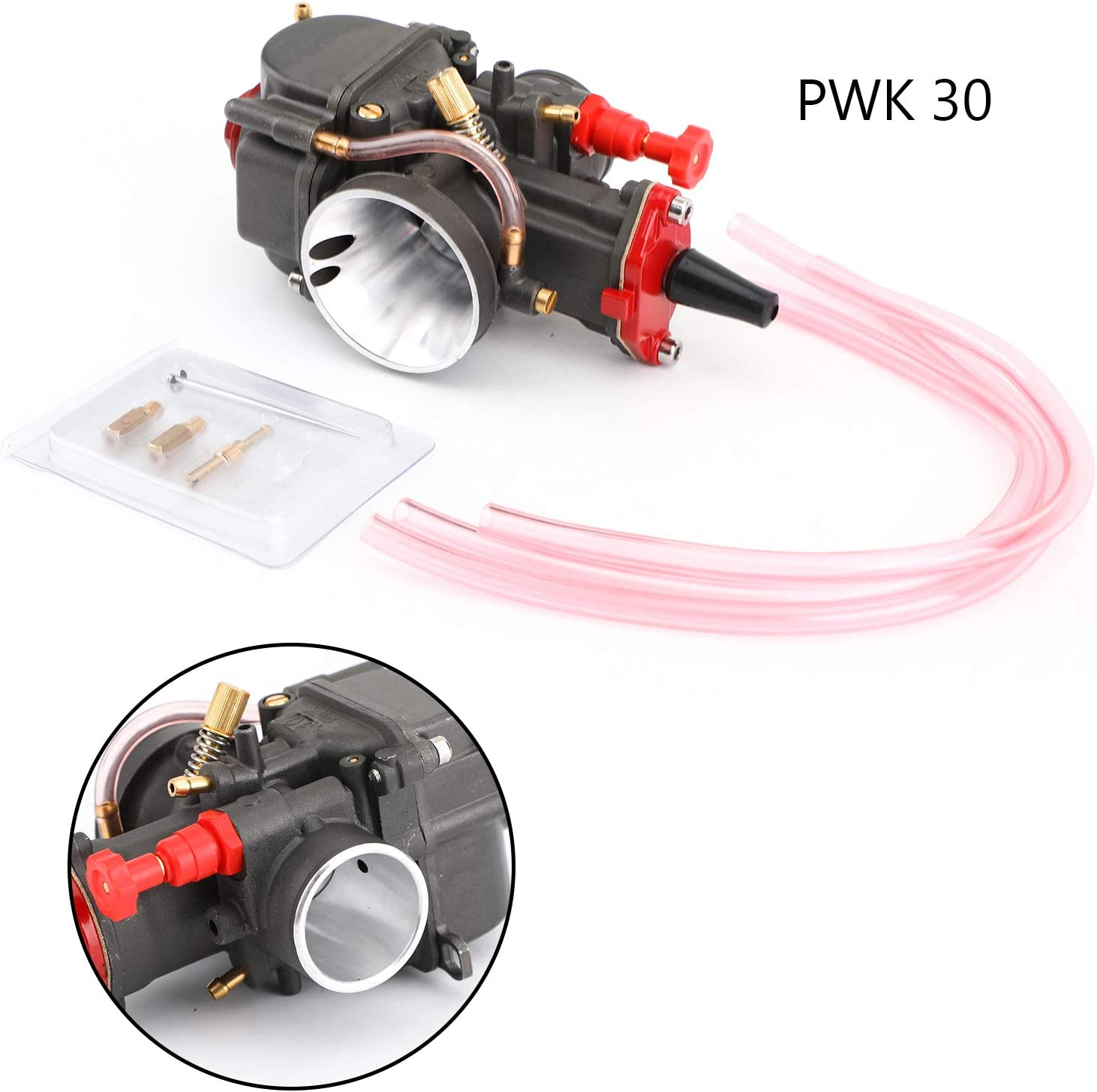Max 80% OFF Artudatech 30mm PWK30 4T Motorcycle Power Jet Directly managed store Racing Carburetor