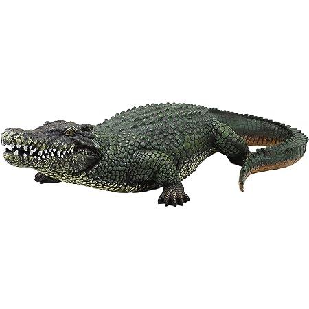 "Ebros 21/"" Long Realistic Alligator Crocodile Statue Home and Garden Figurine"