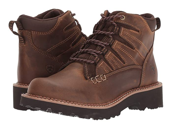 Ariat  Canyon II (Distressed Brown) Womens Lace-up Boots